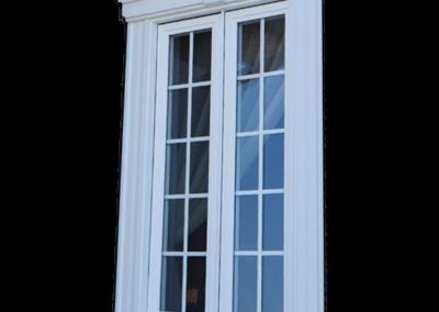 Fenêtre à battant en PVC