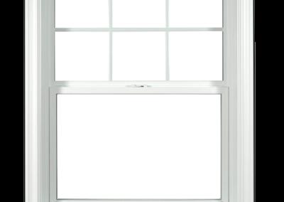 Fenêtre à guillotine simple